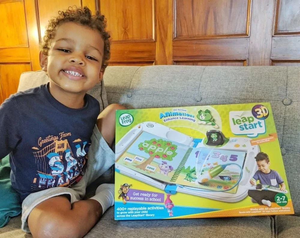 Get Your Kids' Brains to Connect with LeapFrog and VTech! — The LeapFrog LeapStart 3D Ready to Go!