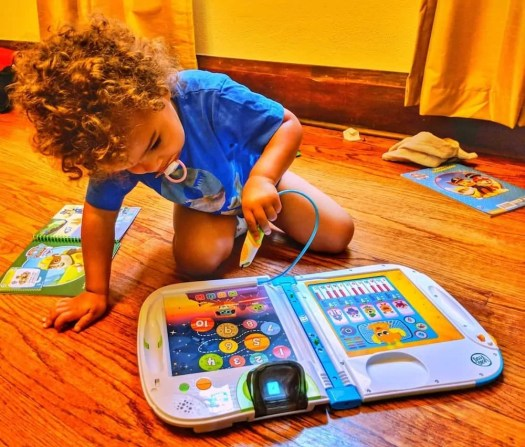 Get Your Kids' Brains to Connect with LeapFrog and VTech! — The Youngest Playing with the LeapFrog LeapStart 3D