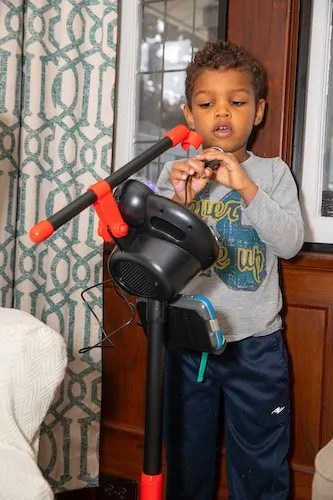 Kids are Meant to be Heard and Not Just Seen with the VTech KidiStar Karaoke Machine™! — Getting His Sing On