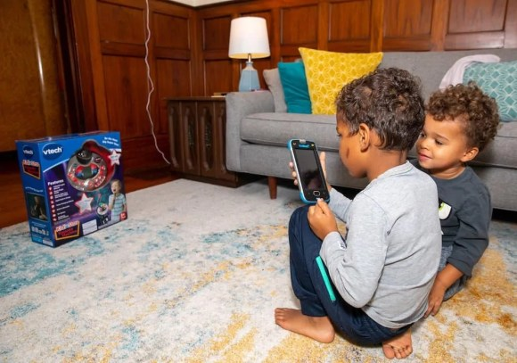Kids are Meant to be Heard and Not Just Seen with the VTech KidiStar Karaoke Machine™! — Taking a Picture with the VTech KidiBuzz