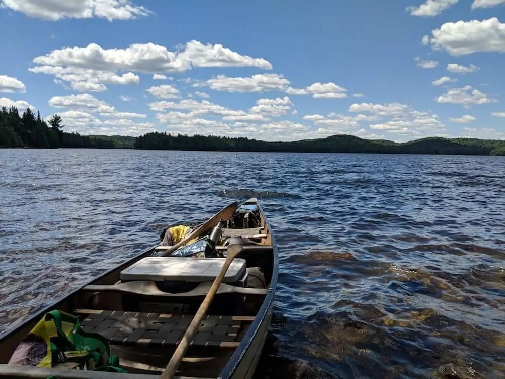 For the Love of Camping, Part Two — A Man and the Mountain that CHANGED Him. — Canoeing on Lake Opeongo