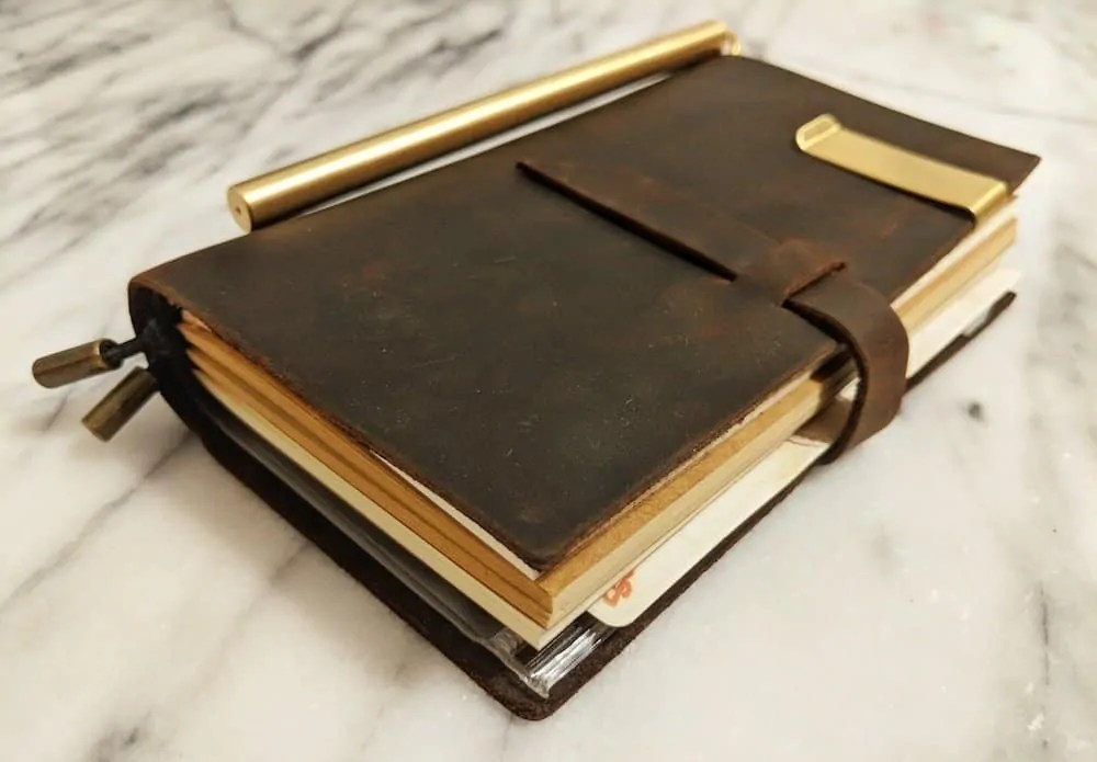 The 2019 200 — Because if YOU Don't Get it Done, Who Will? — Leather-Bound Notebook