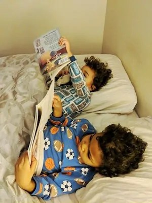 The Life and Times of Casey Palmer — The State of the #BloggerLife, February 2019 — Do Less Better. — The Boys Reading in Bed