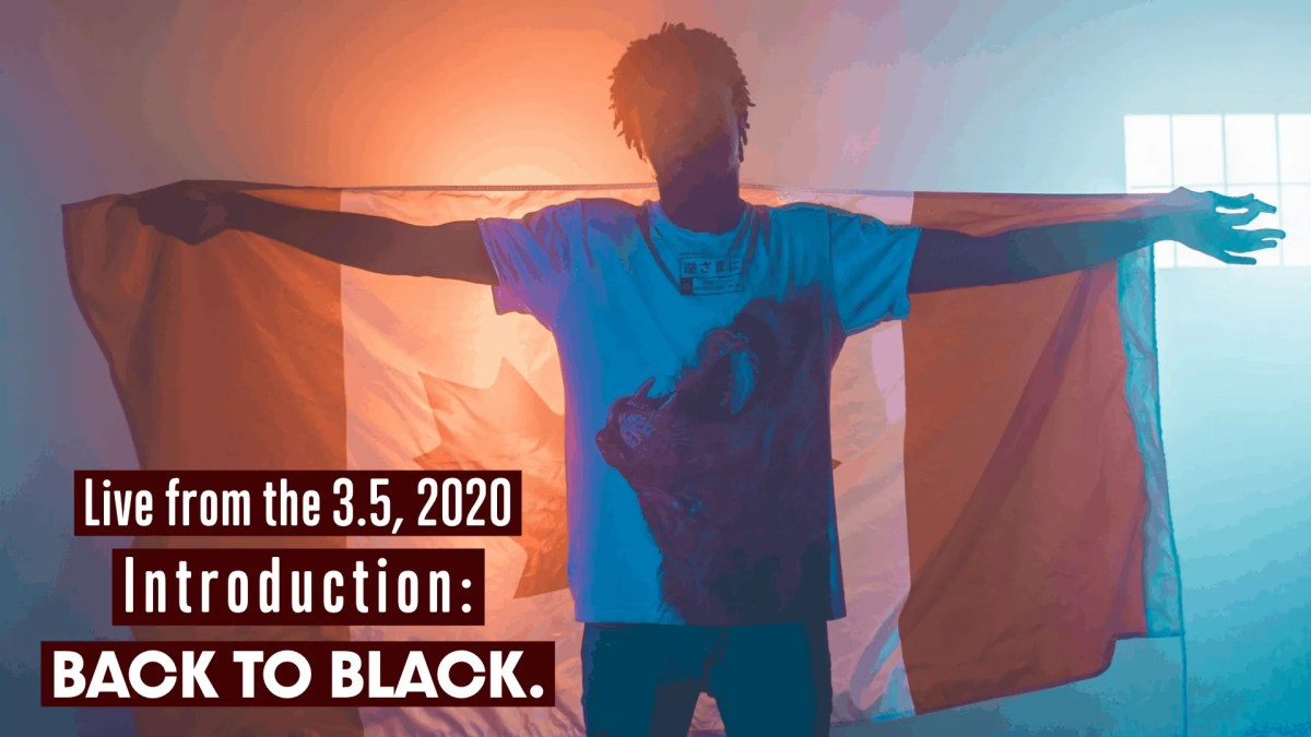 Live from the 3.5, 2020 — Back to Black. (Featured Image)