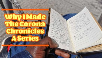 Why I Made The Corona Chronicles A Series (Featured Image)