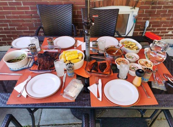 Who the Hell is Uncle Ray — The Most Delicious Way to Spend Your Father's Day! — Table Setting