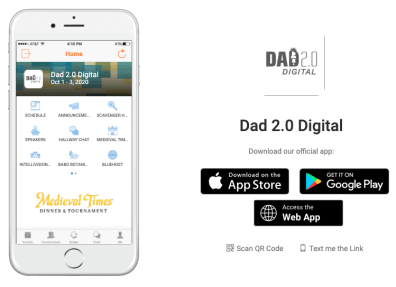 Dad 2.0 Digital — Pandemic or No, The Show Must Go On! — Get the App