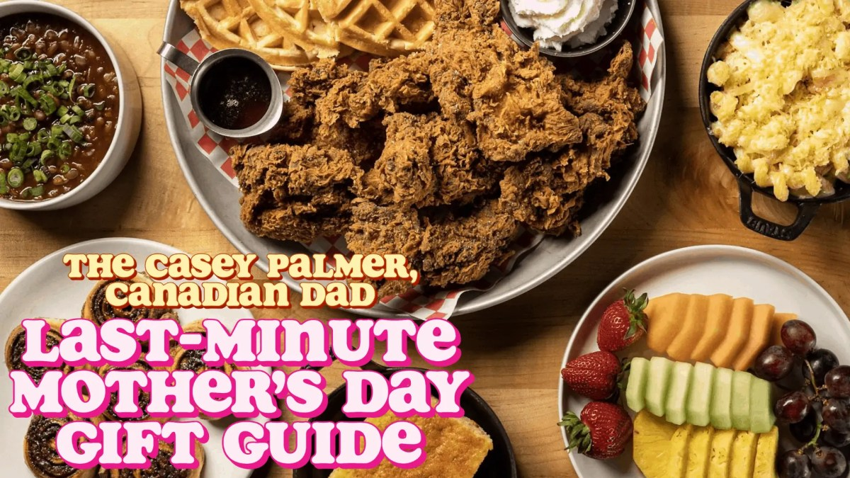 A Last-Minute Mother's Day Gift Guide including a Union Chicken Mother's Day Brunch Kit from ChefDrop!