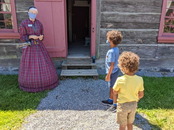 Pickering Museum Village | The 1830s Log House Introduction