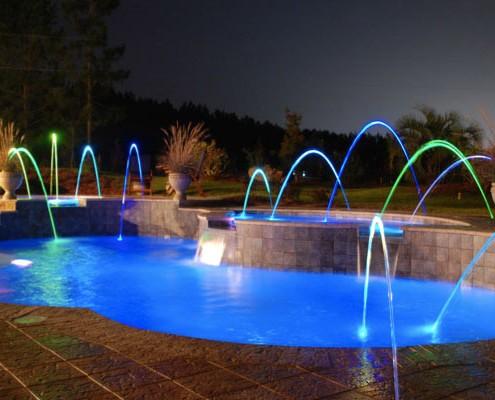 All American Pool Company Fiberglass Swimming Pool