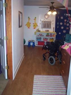 Garage to room conversion