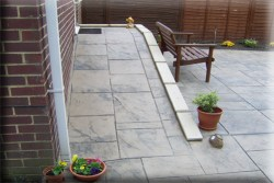 Concrete/Tile Ramp