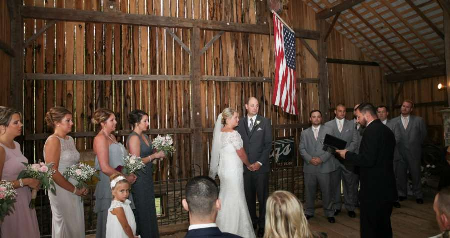 Getting Married In A Barn