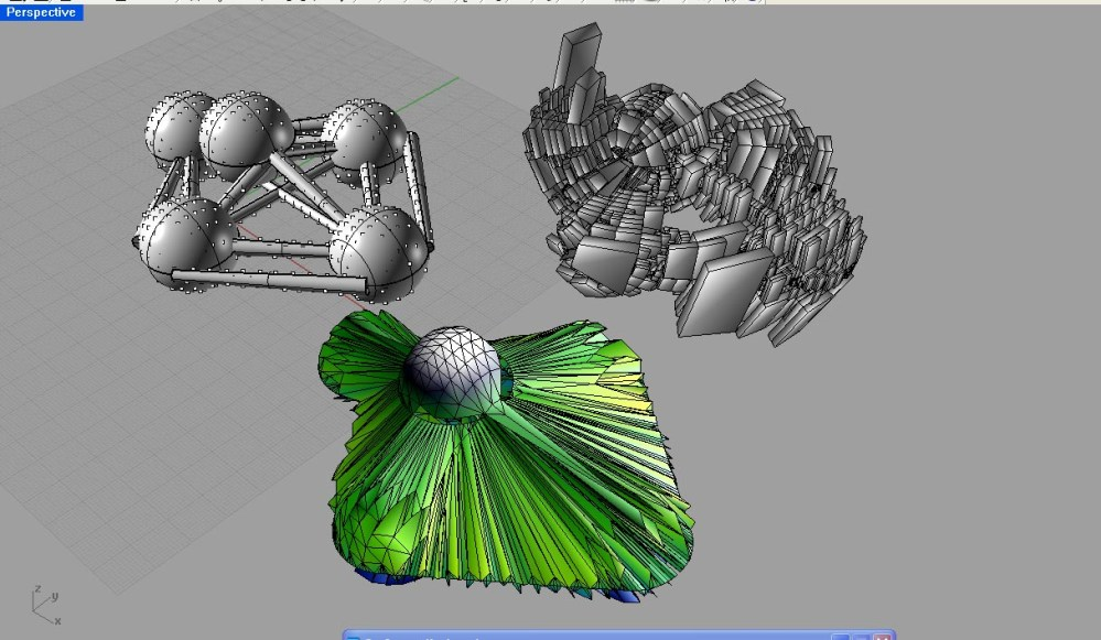 Baby steps toward a non-uniform 3D cell packing to model bone structure. (3/6)
