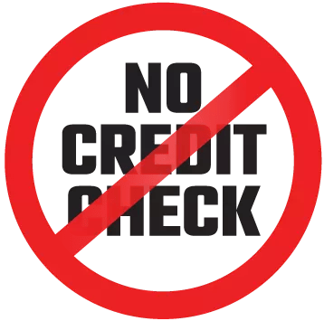 no credit check car rental