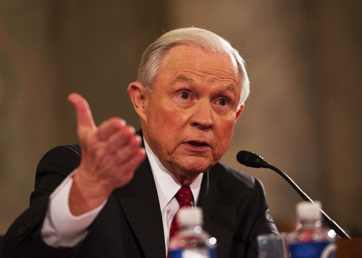 Attorney General Sessions and Massachusetts Democrats go head to head over cannabis prosecution sanctuary.