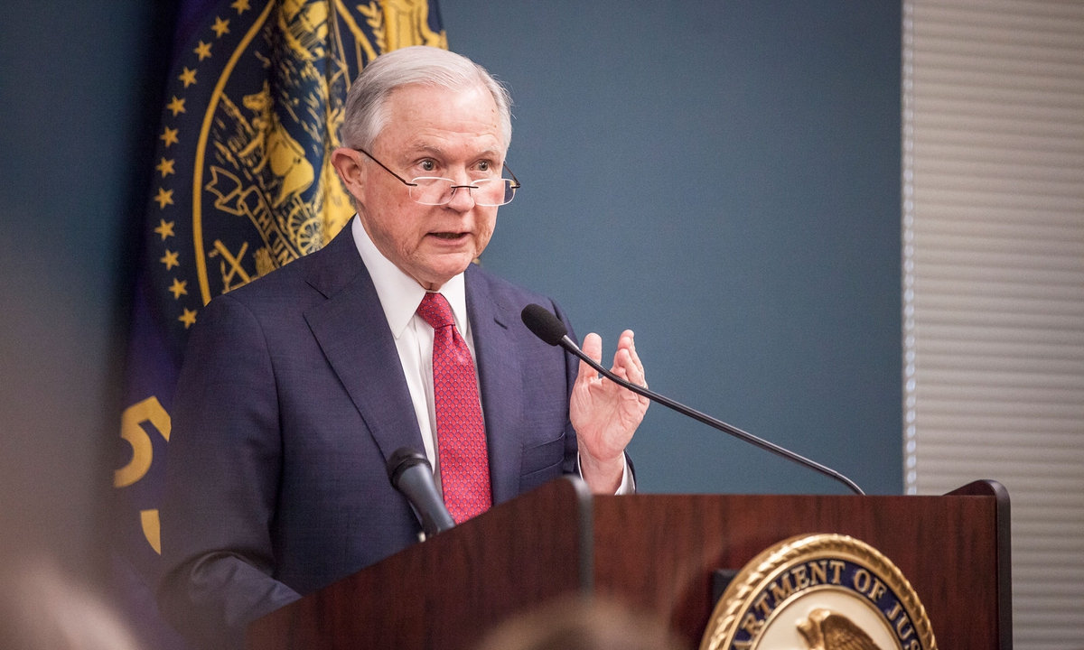 Attorney General Jeff Sessions announced that he plans to rescind the Cole memo