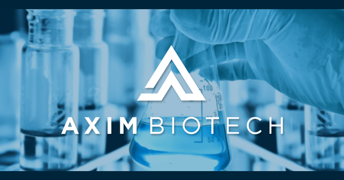 AXIM Biotech Announces Successful Proprietary Extraction Method for Pure Cannabinoid Molecules