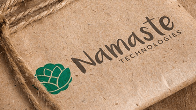 Namaste Announces Closing of $40.25 Million Bought Deal Financing