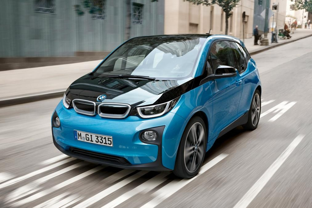 BMW i3's Electric Car is Made from Hemp Composites