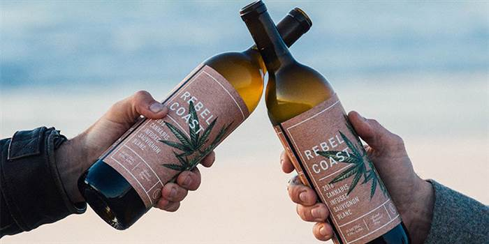 Rebel Coast Winery Presents the First THC-Infused Sauvignon Blanc