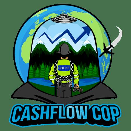 Cashflow Cop Logo - Police Officer Financial Independence Blog