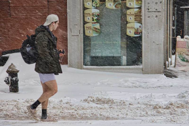 snow-guy-in-shorts - Cashflow Cop Police Financial Independence
