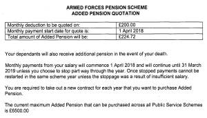 MOD Pension-2018 - Cashflow Cop Police Financial Independence