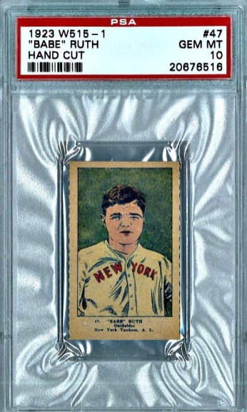 Babe Ruth Vintage Baseball Card