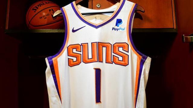 Phoenix Suns PayPal Jersey
