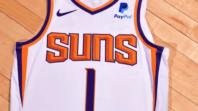 Phoenix Suns PayPal Jersey.png