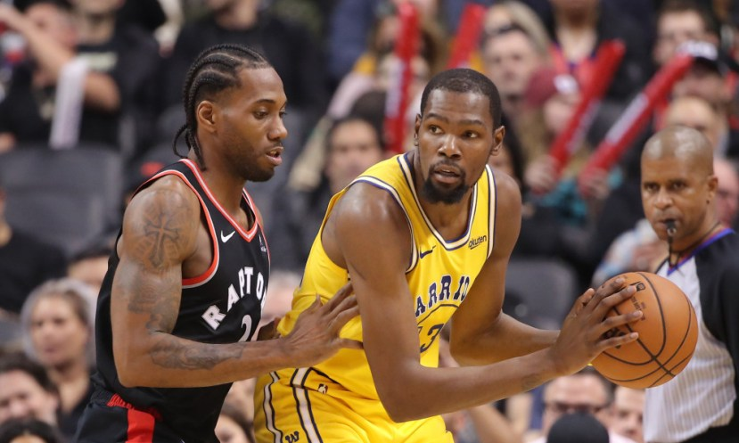 USP NBA: GOLDEN STATE WARRIORS AT TORONTO RAPTORS S BKN TOR GSW CAN ON