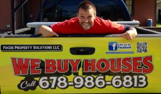 We Buys Houses Truck
