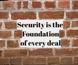 Security is the foundation of every deal