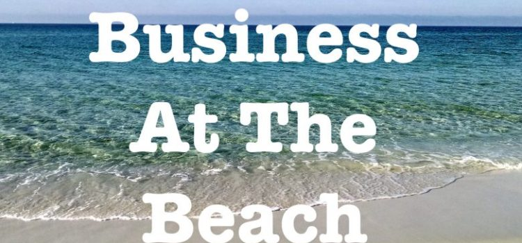 Business and the beach
