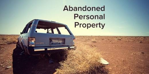 Do outbuildings go with a property?