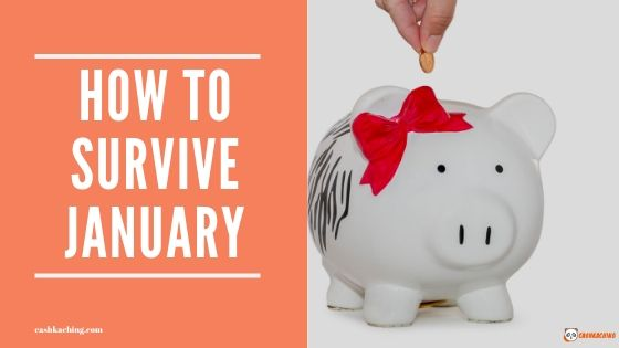 MONEY HANGOVER: 5 TIPS ON HOW TO SURVIVE JANUARY