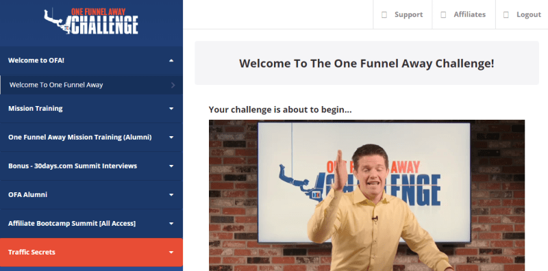 one funnel away challenge dashboard - 15 Reasons You Should Fall In Love With One Funnel Away Challenge: Review
