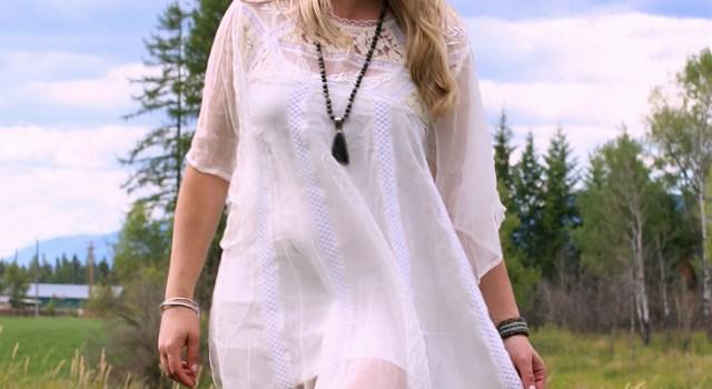 Lammles White Dress-3