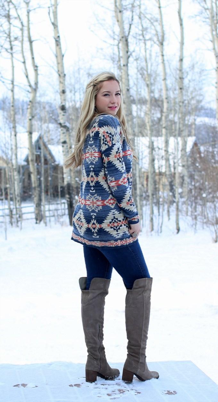 Southwest Boatneck Sweater