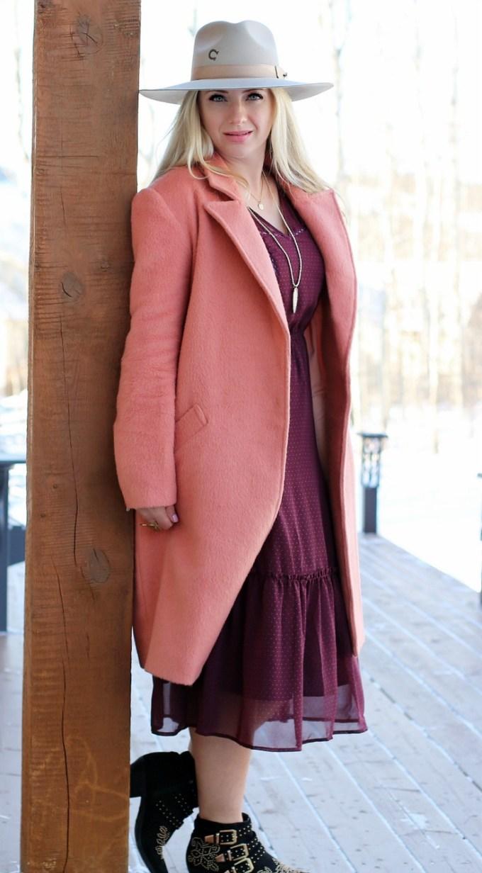 Pre Spring Pink Jacket