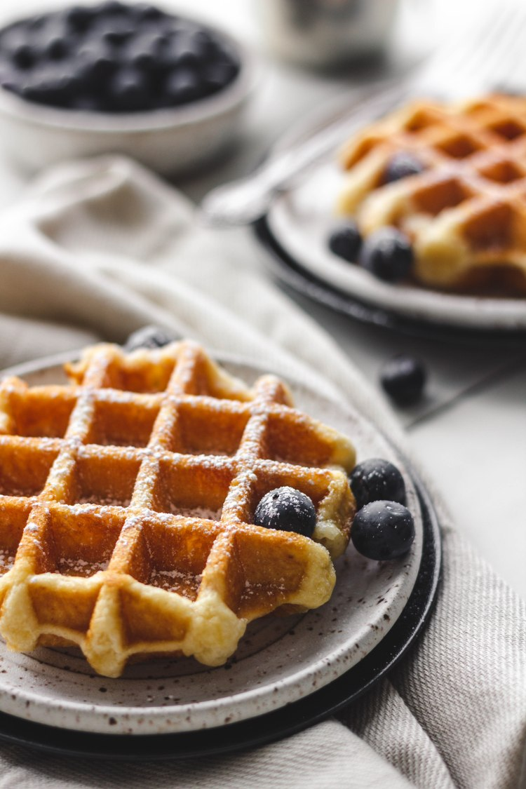 Belgian Waffle Recipe - Cashmere & Cocktails