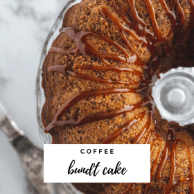 Coffee Bundt Cake Recipe - Cashmere & Cocktails