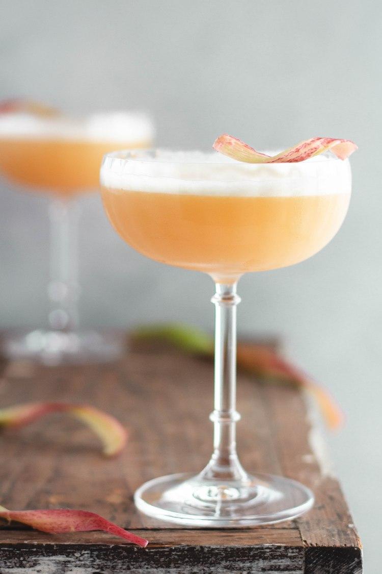 Rhubarb Sour Recipe - Cashmere & Cocktails