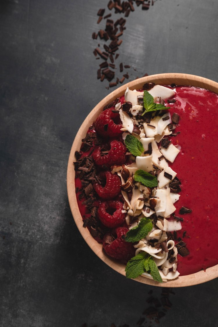 Raspberry Banana Smoothie Bowl Recipe