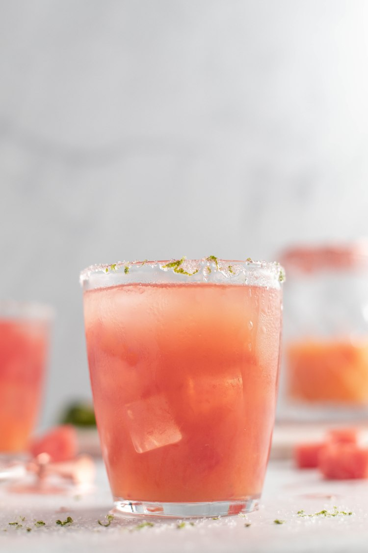 Watermelon Margarita Recipe - Cashmere & Cocktails