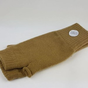 product image of flaxen cashmere wrist warmers - cashmereglovesandscarves.co.uk