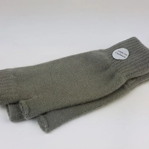product image of blue grass wrist warmers - cashmereglovesandscarves.co.uk