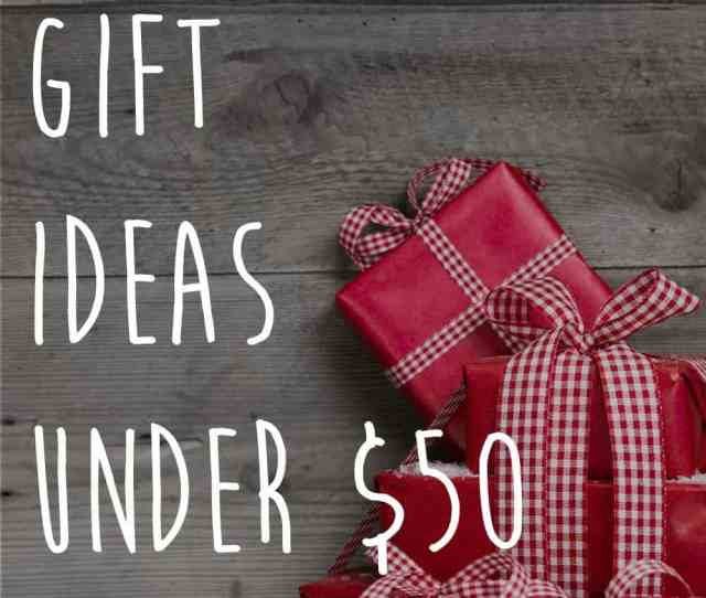 Christmas Gift Ideas Under