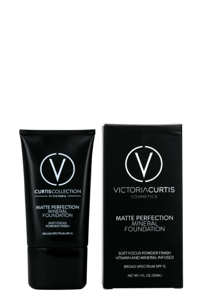 Matte perfection mineral foundation